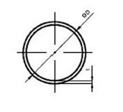 FDC - Dutý profil kruhového průřezu